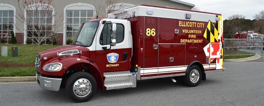 Excellance Type I Freightliner M2 Ambulance