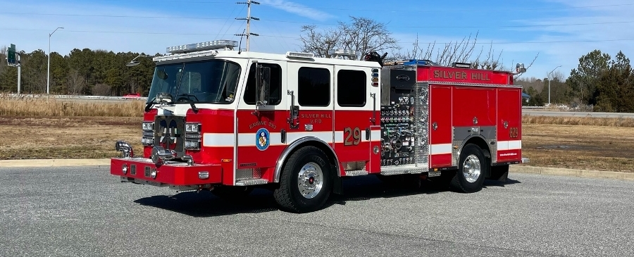 E-ONE Typhoon Stainless Steel 1500 GPM Pumper