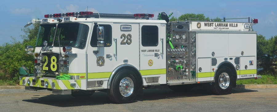 E-ONE Typhoon 2000 GPM Pumper